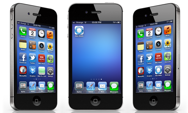 Adding an icon to your iPhone for your website, mobile website design