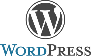 WordPress website CMS logo