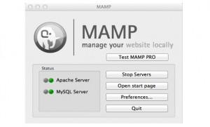 get MAMP errors working